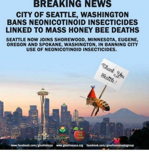 Seattle bans bee killing pesticide