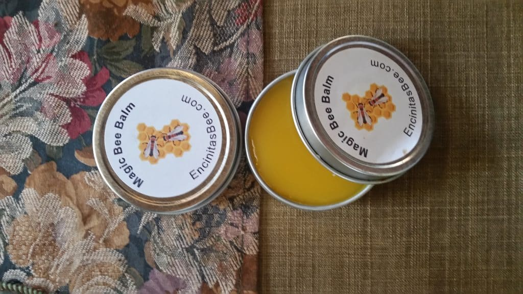 We now have a steady supply of local honey for sale at the Quail Gardens store Bee's wax skin cream only at this address 501 Quail Gardens Drive, Encinitas. C.A 9am - 5pm Thursdays through Saturdays.